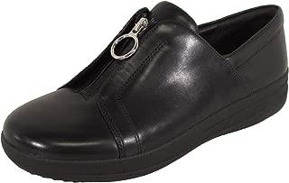 Womens F-Sporty II Zip Leather Sneaker Shoes