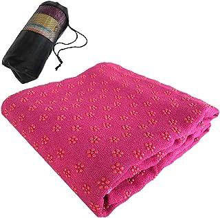Lixada Non Slip Yoga Towels 72x24IN Yoga Mat Towel for Hot Yoga Bikram Pilates