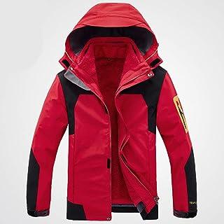 Balscw Chaqueta De Esquí Impermeable para Hombre Abrigo De Nieve De Invierno Cálido Chaqueta Cortavientos De Montaña Chaqu...