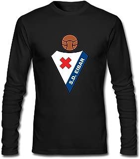 Men SD Eibar Logo O Neck Long Sleeves T-Shirt HeatherGray By Rahk