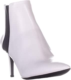 I35 Irsia Pointed Toe Ankle Boots, Bright White, 5.5 US