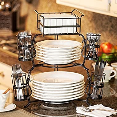 Stackable Buffet Caddy Set 7 pieces