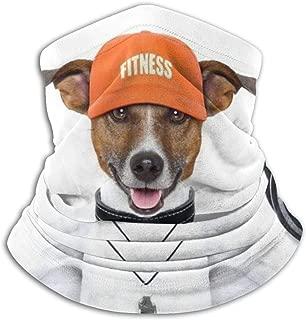 Weightlifting Dog Neck Warmer Gaiter,Headband Face Mask Bandana Head Wrap Scarf Neck Warmer Headwear Balaclava for Sports