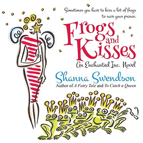 Frogs and Kisses audiobook cover art