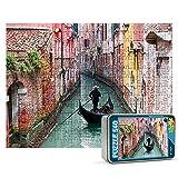 Puzzles personalizados 540 piezas con foto y texto | Máxima calidad de impresión | Diferentes tamaños disponibles (9 a 2000 piezas) | Tamaño: 540 piezas (50 x 34,5 cm) - Con caja personalizada