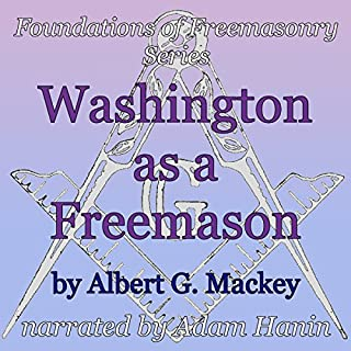 Washington as a Freemason audiobook cover art