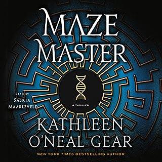 Maze Master audiobook cover art