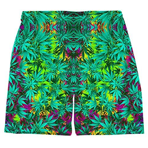 JCNHXD Unisex Plus Tamaño Cintura elástica Hawaiian Beach Troncos Secar rápido Malas 3D Imprimir 3D Pantalones Cortos para Hombre,s,1,'en Shorts2 5XL