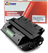 Calitoner Remanufactured Laser Toner Cartridge Replacement for HP C8061A (61A) -Black