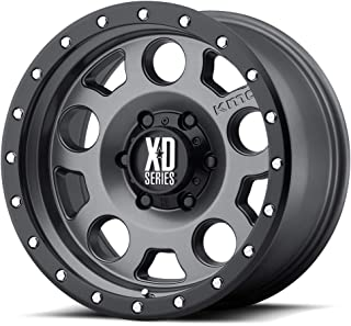 XD SERIES XD126 Enduro Pro 20X9 8X6.5 ET18 Gray/Blk Reinforcing Ring (Qty of 1)