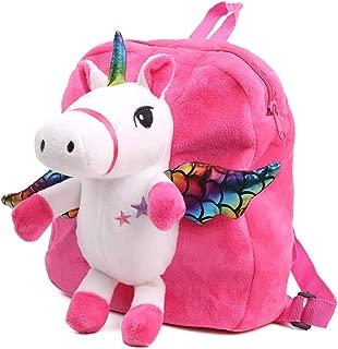 Cartoon Backpack for Kids,Toddler Backpack Snack Bag Doll Toy Gift for Girls
