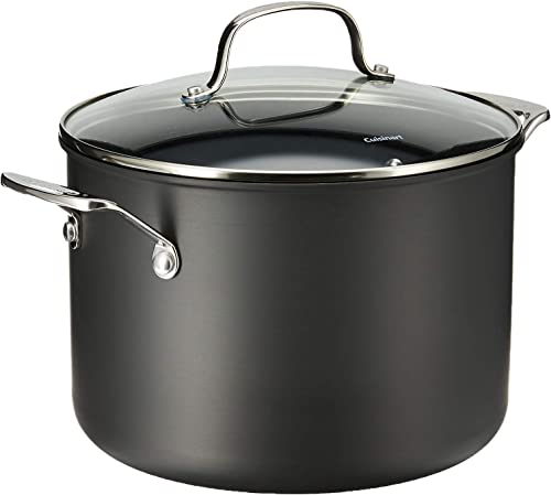wholesale Cuisinart Chef's Classic Nonstick Hard-Anodized high quality 8-Quart Stockpot new arrival with Lid,Black outlet sale