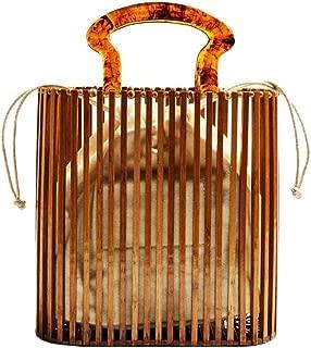 bamboo handle beach bag