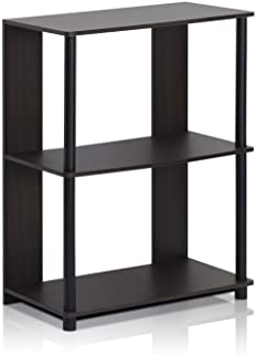 Furinno 15070WNBK Jaya Simple Design Bookcase, Walnut