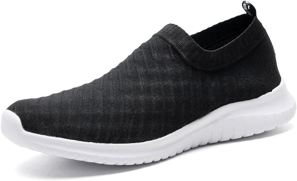 LANCROP Men's Comfortable Walking Shoes Bargain Sli Loafer Casual Knit - OFFicial