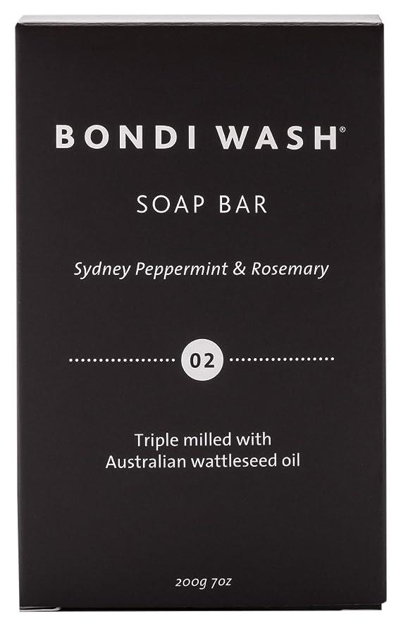 採用フィード有効化BONDI WASH ソープバー(固形石鹸) シドニーペパーミント&ローズマリー 200g