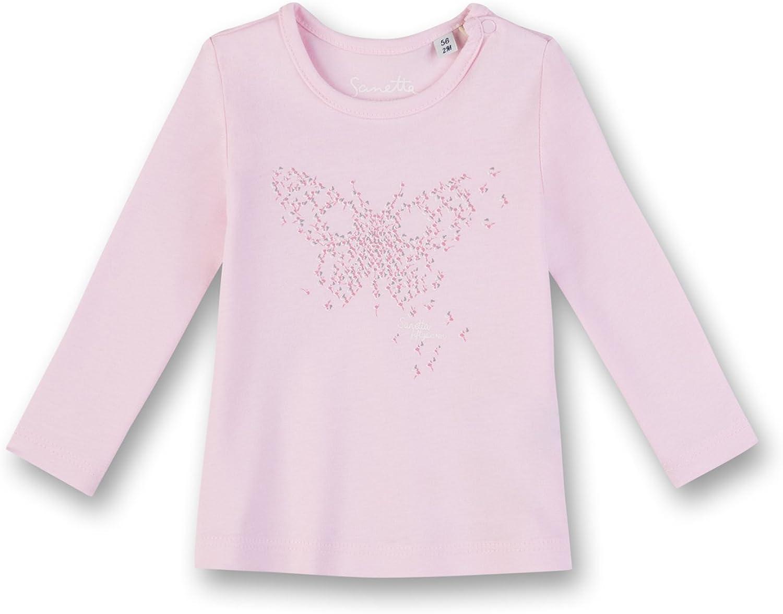 Sanetta Baby-M/ädchen Langarmshirt