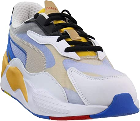 PUMA Boys RS-X³ Color x Sonic (Big Kids) Casual Sneakers,