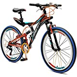 Merax Yond 26' Dual-Suspension 21 Speed Mountain Bike