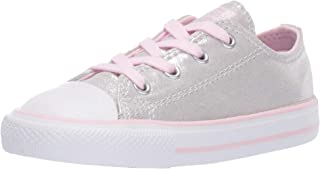 d846fb9470f9 Converse Kids Infants  Chuck Taylor All Star Shimmer Low Top Sneaker