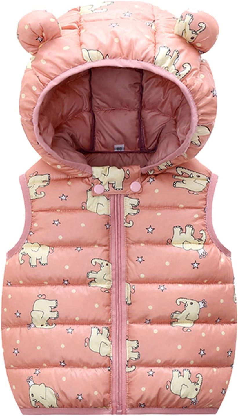 Baby Boy Girls Max 63% OFF Puffer Vest Some reservation Winter Water-Resistant Wa Lightweight