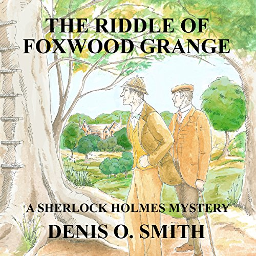 The Riddle of Foxwood Grange audiobook cover art