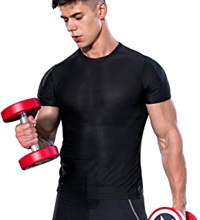 SUPERBODY Mens Athletic T-Shirts Running Tee Cool Dry Sport Short Sleeve Training Top