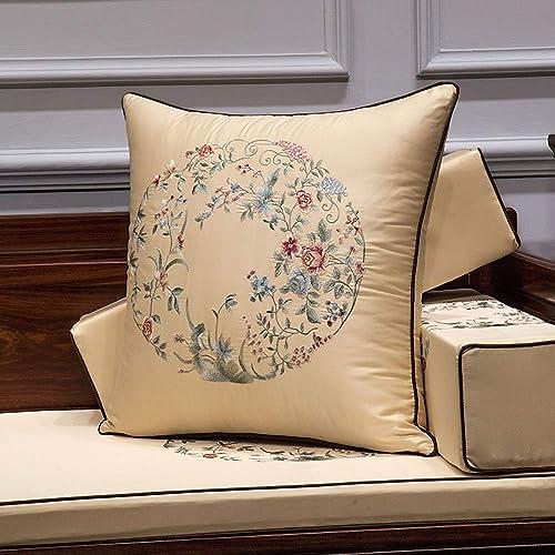 aquí tiene la última Almohada para sofá cojín cojín cojín Decorativo Cuadrado Adecuado para Sala de Estar Sofá de un Dormitorio con Cremallera Invisible tamaño Opcional Almohada Decorativa  elige tu favorito