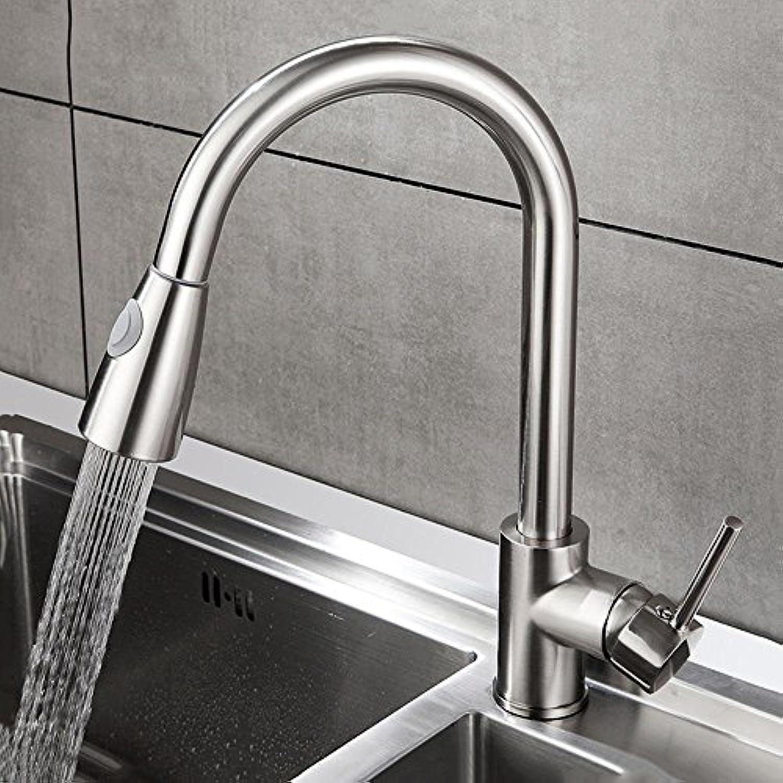 Liudaye Küche Wasserhahn Drahtziehen Wasserhahn heien und Kalten Wasserhahn Waschbecken Ziehen