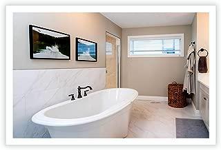 LED Side-Lighted Bathroom Vanity Mirror: 60