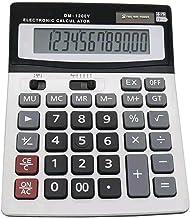 $34 » MTFZD CT-1200V Solar Calculator, 12-Digit Display Desktop Calculator, Suitable for Office, Home, School (Color : White)