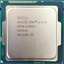 Intel Core i3-4160 I3 4160 Dual Core 3.60GHz Haswell CPU 5 GT/s 3MB SR1PK LGA1150 I3 4160 Processor 4160