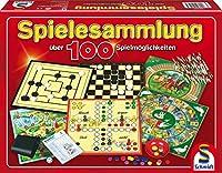Spielesammlung. Über 100 Spielmöglichkeiten: Für 2 bis 6 Spieler ab 6 Jahren