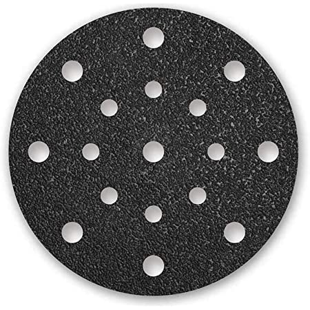MENZER Disques abrasifs auto-agrippants pour ponceuses excentriques Lot de 50 grain 600 8 trous 115 mm