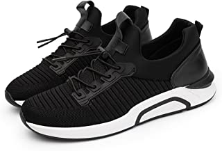 LaBiTi Men's Lightweight Fashion Mesh Sneakers Breathable Athletic Outdoor Casual Sports Running Shoes