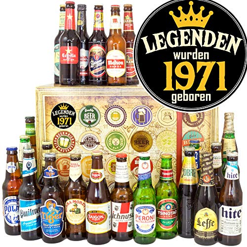 Legenden 1971/24 Biere aus aller Welt/Geschenke Ideen für Sie/Bier Adventskalender