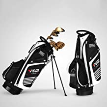 WGOLF Golf Tas met Stand Draagbare Stand Tas 14 Sockets Multi Zakken Golf Standaard Tas met Schouderriem 90* 28 CM 3 Kleuren