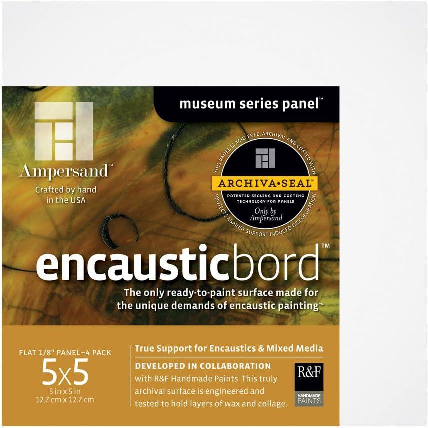 Ampersand Encausticbord Hardboard Regular store Panel Mixed and for overseas Encaustics