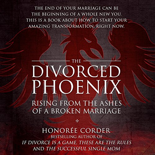 The Divorced Phoenix audiobook cover art