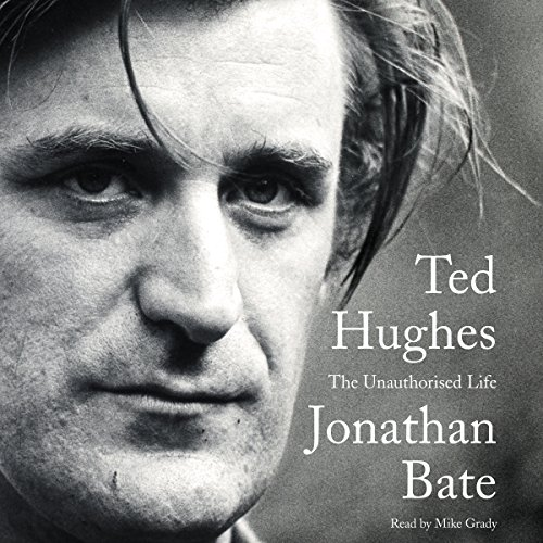 Ted Hughes audiobook cover art