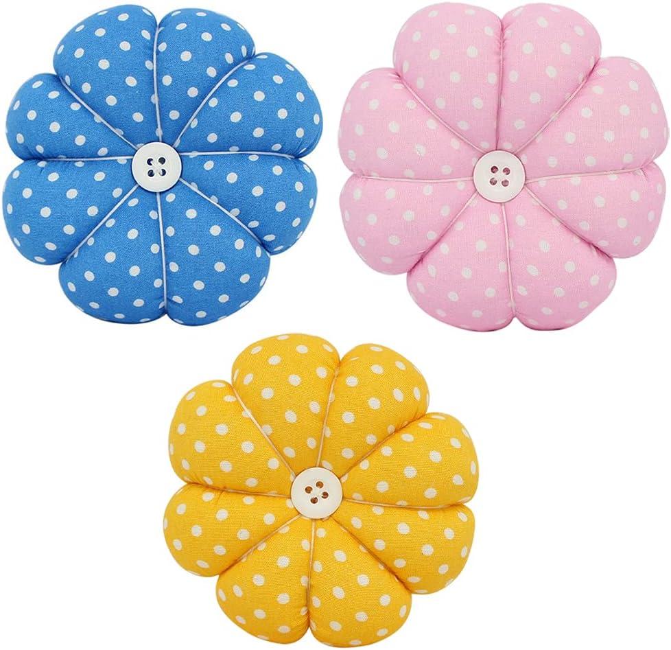 3 Pieces Pin Ranking integrated 1st place Cushion Needle Elegant C Needles Pumpkin Shaped