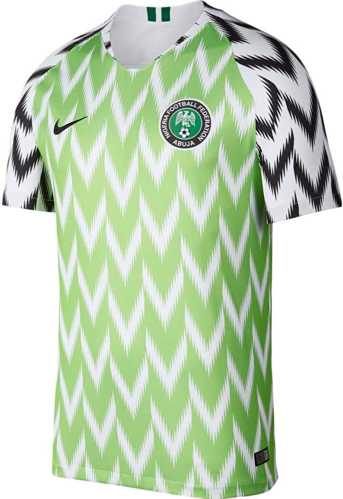 Nike 2018-2019 Nigeria Home Football Soccer T-Shirt Maglia