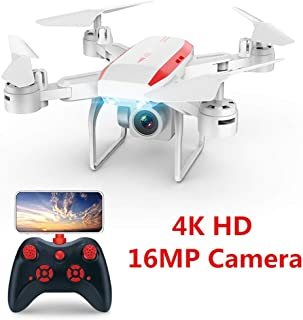 RC Drone 4K Hd Camera FPV WiFi Optical Flow Real Time Aerial Video RC Quadcopter Aircraft Fly 20Mins RC Drone Camera,Without Camera
