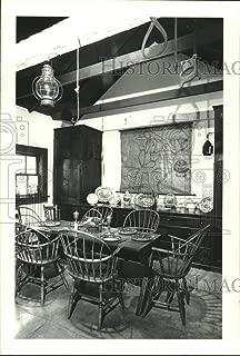 Vintage Photos 1978 Press Photo Dining Room at Varner-Hogg State Park Plantation in Texas