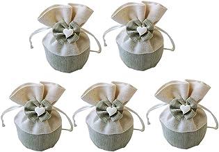 LW-MA001 12 Sacchetti Matrimonio Sacchetti Juta Sacchetti Confetti Comunione Sacchetti Matrimonio