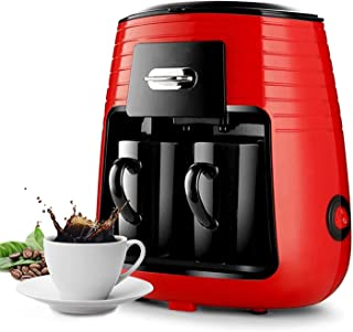 PRYMAX Drip Coffee Maker, Coffee Machine with 2 Coffee Mugs Fast and Easy to Brew Coffee, For Home/Office/Apartment/Gift