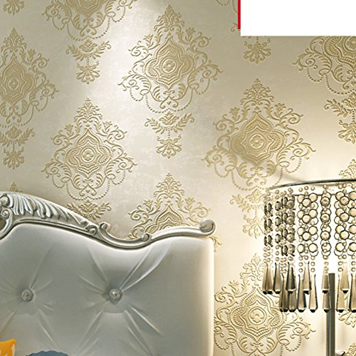schuimend behang master slaapkamer woonkamer behang achter de TV Non-woven bed achtergrond behang AARD A