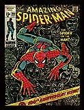 Spider-Man 30 x 40 cm '100th Anniversary hombre' impresión enmarcada