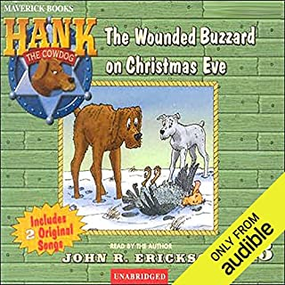 The Case of the Wounded Buzzard on Christmas Eve audiobook cover art