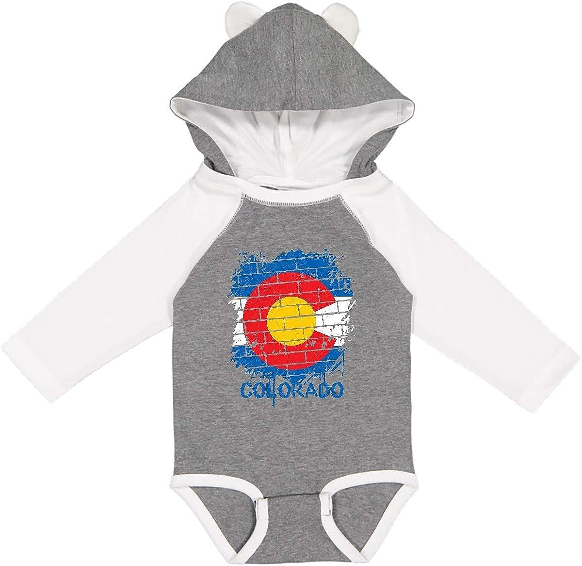inktastic Graffiti Colorado Max 87% OFF Ranking TOP7 State Sleeve Creeper Long Flag
